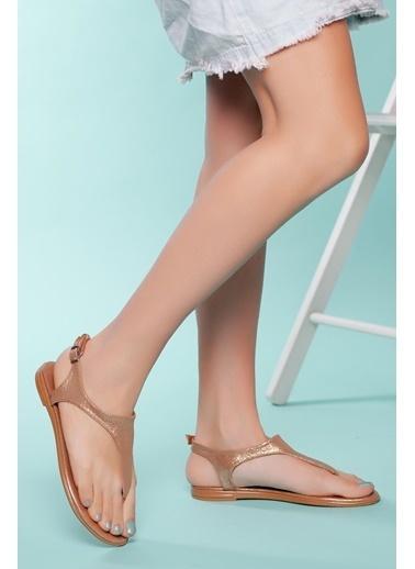 Muggo Sandalet Altın